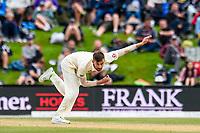 Mark Wood of England  during Day 4 of the Second International Cricket Test match, New Zealand V England, Hagley Oval, Christchurch, New Zealand, 2nd April 2018.Copyright photo: John Davidson / www.photosport.nz