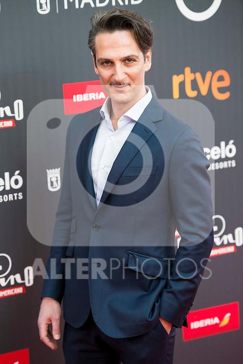 "Ernesto Alter attends to the presentation of the ""Premios Platino"" at Palacio de Cristal in Madrid. April 07, 2017. (ALTERPHOTOS/Borja B.Hojas)"