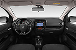 Stock photo of straight dashboard view of 2019 Mitsubishi Spacestar Invite 5 Door Hatchback Dashboard