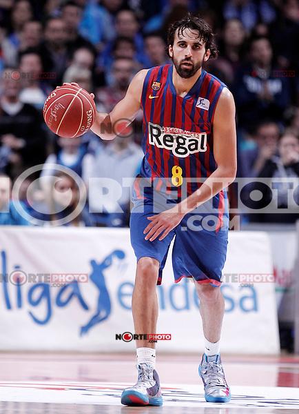 FC Barcelona Regal's Victor Sada during Liga Endesa ACB match.January 13,2012. (ALTERPHOTOS/Acero)
