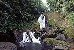 waterfall in Corcovado National Park