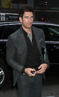 July 26, 2012 Dylan McDermott at Good Morning America to talk about his new movie the Campaign in New York City..Credit:© RW/MediaPunch Inc. /NortePhoto.com<br />