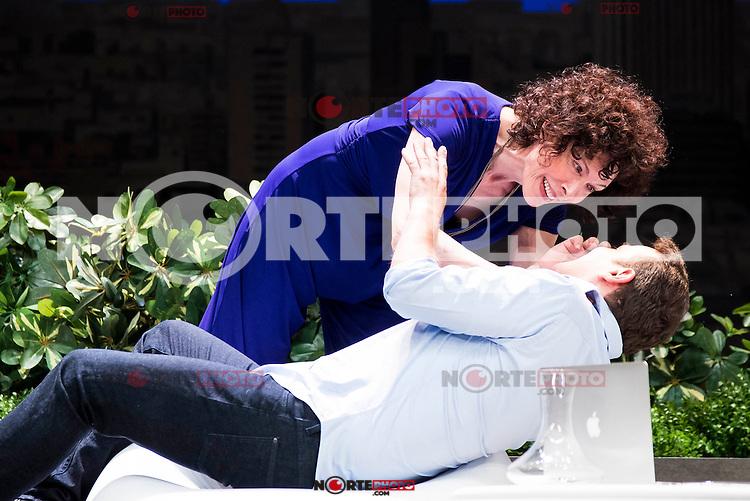 "Maru Valdivieso and Luis Merlo during the theater play ""El Test"" at Teatro Cofidis in Madrid. September 15, Spain. 2016. (ALTERPHOTOS/BorjaB.Hojas) /NORTEPHOTO"