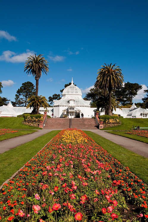 Conservatory, Golden Gate Park, San Francisco, California, USA.  Photo copyright Lee Foster.  Photo # california108785