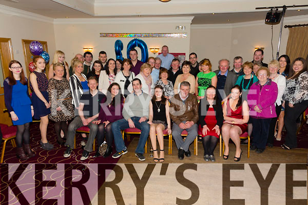 Geraldine Egan, Tralee, celebrating her 30th birthday with family and friends at Kerins O'Rahillys clubhouse on Saturday