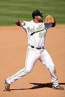 Pedro Alvarez / Vanderbilt Commodores..Photo by:  Bill Mitchell/Four Seam Images
