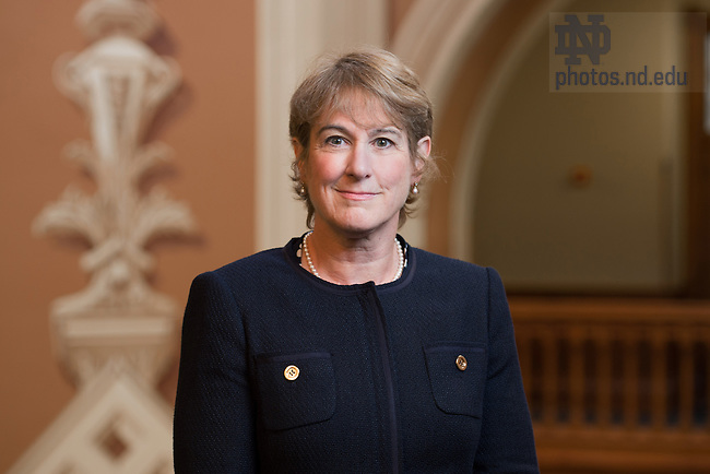Aug. 11, 2015; Mary Galvin, Dean of the College of Science (Photo by Matt Cashore/University of Notre Dame)