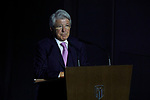 Enrique Cerezo during the Official Presentation of Joao Felix as new player of Atletico de Madrid at Wanda Metropolitano Stadium in Madrid, Spain. July 08, 2019. (ALTERPHOTOS/A. Perez Meca)