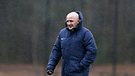 RALEIGH, NC - MARCH 13: Head coach Paul Riley (ENG). The North Carolina Courage held their first ever training session on March 13, 2017, at WRAL Soccer Center in Raleigh, NC to start their preseason before the 2017 NWSL Season. Prior to its offseason relocation the team was known as the Western New York Flash.