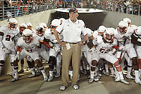 HOUSTON, TX - AUGUST 29, 2014: The University of Texas at San Antonio Roadrunners Football team defeats the University of Houston Cougars 27-7 in the inaugural game at the new TDECU Stadium. (Photo by Jeff Huehn)