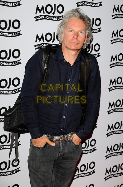 JULIEN TEMPLE.At the Mojo Honours List Awards held at Old Truman Brewery, London, England, June 16th 2008. .arrivals half length blue shirt black bag.CAP/CAN.©Can Nguyen/Capital Pictures