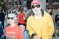 Donald Trump - Supporters Heckling Democrats - Labor Day Parade - Milford, NH - 2 Sept 2019