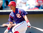 15 March 2006: Royce Clayton, infielder for the Washington Nationals, at bat during a Spring Training game against the New York Mets. The Mets defeated the Nationals 8-5 at Space Coast Stadium, in Viera, Florida...Mandatory Photo Credit: Ed Wolfstein..