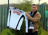 New signing for Swansea City Football Club, striker Shefki Kuqi