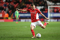 Ben Purrington of Charlton Athletic in action during Charlton Athletic vs Burton Albion, Sky Bet EFL League 1 Football at The Valley on 12th March 2019