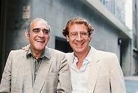 Abe Vigoda & Steve Landesberg Barney Miller Reunion 1985 By Jonathan Green