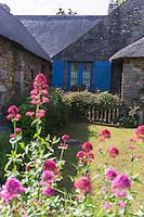 France, Bretagne, (29), Finistère, Presqu'île de Crozon, Crozon: Hameau de Montourgard, Penty