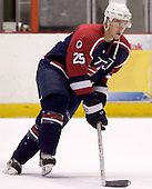 Adam Pineault (Moncton Wildcats - Columbus Blue Jackets)  The US Blue team lost to Sweden 3-2 in a shootout as part of the 2005 Summer Hockey Challenge at the National Junior (U-20) Evaluation Camp in the 1980 rink at Lake Placid, NY on Saturday, August 13, 2005.
