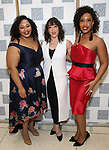 Alaysha Fox, Cameron Adams and Briana Hunter attends the Camelot' Benefit Concert for Lincoln Center After Party at David Geffen Hall on March 4, 2019 in New York City.