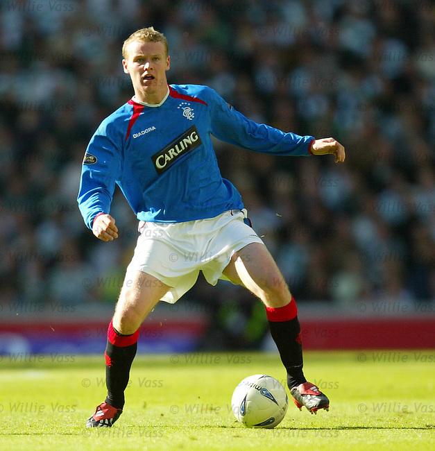 Michael Ball, Rangers.Stock season 2003-2004.pic willie vass