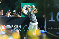 MatthiasSchwab (AUT) during the third round of the Turkish Airlines Open, Montgomerie Maxx Royal Golf Club, Belek, Turkey. 09/11/2019<br /> Picture: Golffile | Phil INGLIS<br /> <br /> <br /> All photo usage must carry mandatory copyright credit (© Golffile | Phil INGLIS)