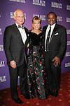 """Eric J., Daria L. Wallach and Robert Battle arrive at the Alvin Ailey American Dance Theater """"Modern American Songbook"""" opening night gala benefit at the New York City Center on November 29, 2017."""