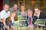 Killarney Mayor Sean Counihan launched the Kerry LGBT and friends Calendar at  Failte Ireland Discovery office in Killarney on Monday front row l-r: Margaret O'Donoghue, Sean Counihan. Back row: Rene Dooley Failte Ireland, Martin Greenwood, Marlene McCabe Ballyspillane Resource Centre and Anita Cremin Gleneagle Hotel