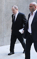 NEW YORK, NY July 09, 2018 Harvey Weinstein arriving to  Criminal Court after additional  new charges lodged against him  at 100 Center St in New York. July 09, 2018 <br /> CAP/MPI/RW<br /> &copy;RW/MPI/Capital Pictures