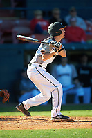 Wisconsin-Milwaukee Panthers second baseman Billy Quirke (7) at bat during a game against the Bethune-Cookman Wildcats on February 26, 2016 at Chain of Lakes Stadium in Winter Haven, Florida.  Wisconsin-Milwaukee defeated Bethune-Cookman 11-0.  (Mike Janes/Four Seam Images)