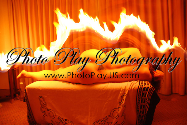 Fire Aura with Ten