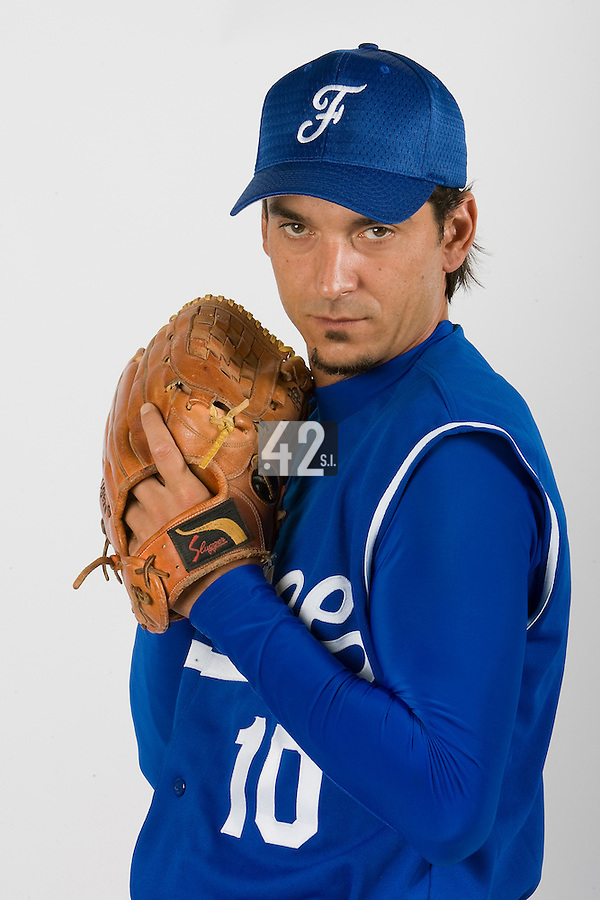 15 Aug 2007: Samuel Meurant - Team France Baseball
