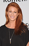 Angie Everhart at the Pathway To The Cure for Breast Cancer A fundraiser benefiting Susan G. Komen held at private hangar at Santa Monica Airport Los Angeles, CA. June 11, 2014.