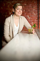 Ashley Christensen, owner of Fox Liquor Bar in Raleigh, NC.