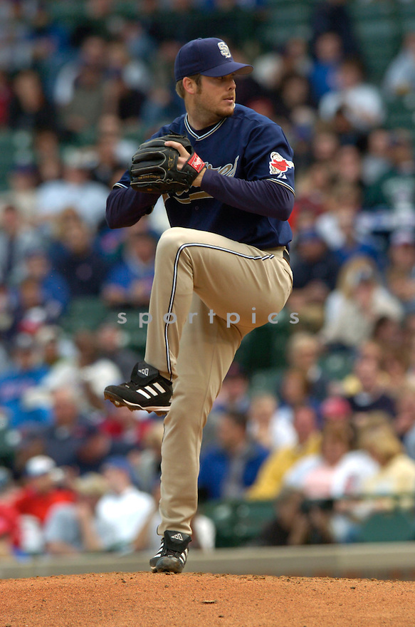 Adam Eaton during the San Diego Padres v. Chicago Cubs game on April 11, 2005...San Diego wins 1-0..David Durochik / SportPics