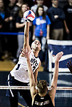 _E2_1688<br /> <br /> 17mVLB vs McKendree<br /> <br /> BYU- 3<br /> McKendree- 0<br /> <br /> December 9, 2016<br /> <br /> Photography by Nate Edwards/BYU<br /> <br /> © BYU PHOTO 2016<br /> All Rights Reserved<br /> photo@byu.edu  (801)422-7322