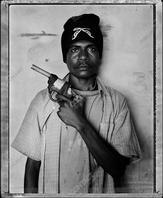 """Ako,"" Raskols, gangs of Port Moresby, Papua New Guinea, January 2004"