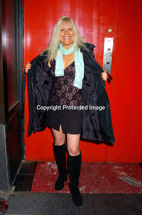 Ilene Kristen ..at Prohibition Night Club  for the Gabriel Project Benefit on June 5, 2004 in New York Citiy. The Gabriel Project provides heart surgery for children from developing countries.                                                                                Photo by Robin Platzer, Twin Images