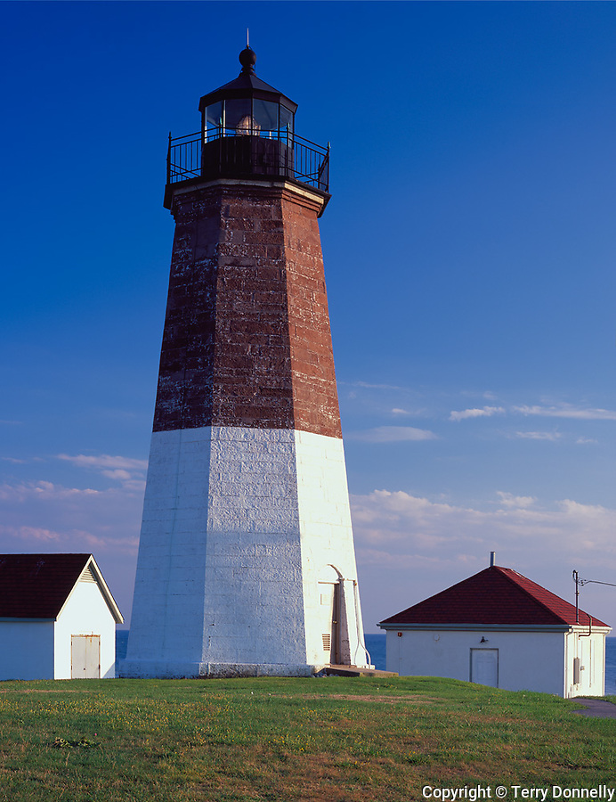 Rhode Island Sound, RI<br /> Point Judith Lighthouse (1857), Narraganset