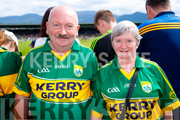 Terence O'Neill, Muckross, Killarney, pictured at the Kerry v Clare Munster semi-final at Fitzgerald Stadium, Killarney on Sunday last.