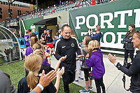 Portland, Oregon - Sunday May 29, 2016: Portland Thorns FC head coach Mark Parsons. The Portland Thorns play the Seattle Reign during a regular season NWSL match at Providence Park.