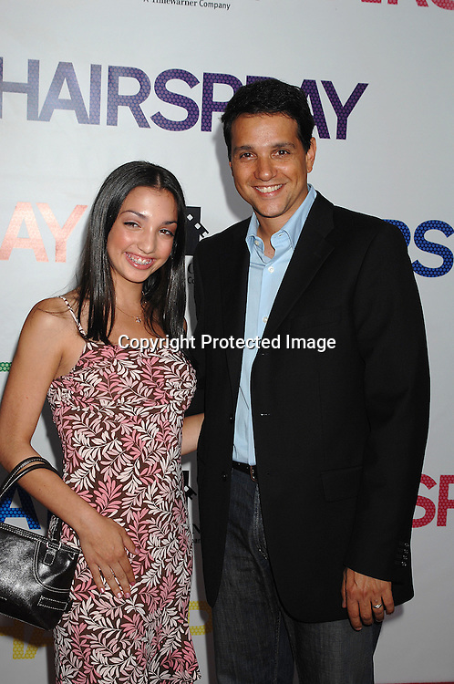 """Julia and Ralph Maccio..arriving at the New York Premiere of """"Hairspray"""" on         July 16, 2007 at The Ziegfeld Theatre. ..Robin Platzer, Twin Images......212-935-0770"""