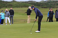 Linn Grant (SWE) on the 17th green during the Matchplay Semi-Final of the Women's Amateur Championship at Royal County Down Golf Club in Newcastle Co. Down on Saturday 15th June 2019.<br /> Picture:  Thos Caffrey / www.golffile.ie