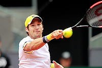 Dusan Lajovic, Serbia, during Madrid Open Tennis 2018 match. May 11, 2018.(ALTERPHOTOS/Acero) /NORTEPHOTOMEXICO