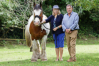 2020 07 16 David Wallis and his wife Robbie Bartington, Llanrhidian in south Wales, UK.