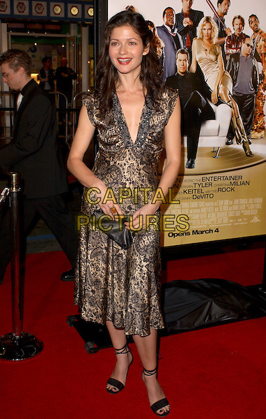 """JILL HENNESSY.Attends MGM's World Premiere of """"Be Cool"""" held at The Grauman's Chinese Theatre in Hollywood, California, USA, February 14th 2005.full length.Ref: DVS.www.capitalpictures.com.sales@capitalpictures.com.©Capital Pictures."""