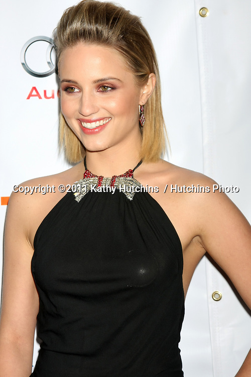 "LOS ANGELES - DEC 4:  Dianna Agron arrives at ""The Trevor Project's 2011 Trevor Live!"" at Hollywood Palladium on December 4, 2011 in Los Angeles, CA"