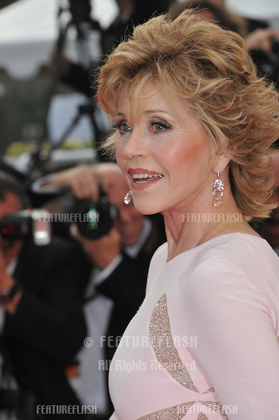 "Jane Fonda at the premiere of ""Sleeping Beauty"" in competition at the 64th Festival de Cannes..May 12, 2011  Cannes, France.Picture: Paul Smith / Featureflash"