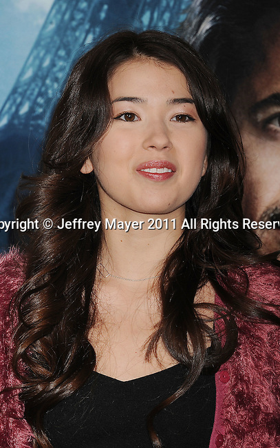 WESTWOOD, CA - DECEMBER 06: Nichole Bloom attends the Los Angeles premiere of 'Sherlock Holmes: A Game Of Shadows' at Regency Village Theatre on December 6, 2011 in Westwood, California.