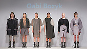 01/06/2015. London, UK. Collection by Gabi Bozyk. Fashion show of the University of Brighton at Graduate Fashion Week 2015. Graduate Fashion Week takes place from 30 May to 2 June 2015 at the Old Truman Brewery, Brick Lane.