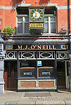 O'Neill's traditional pub, city of Dublin, Ireland, Irish Republic